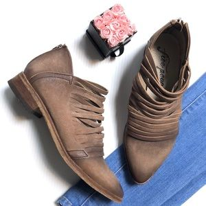 """Free People Shoes - Free People """"Lost Valley"""" Ankle Booties"""